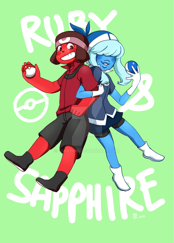Su pokemon ruby sapphire by qianying on deviantart - Ruby and sapphire su ...