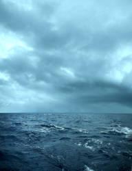 Stormy sea by darkrose42-stock