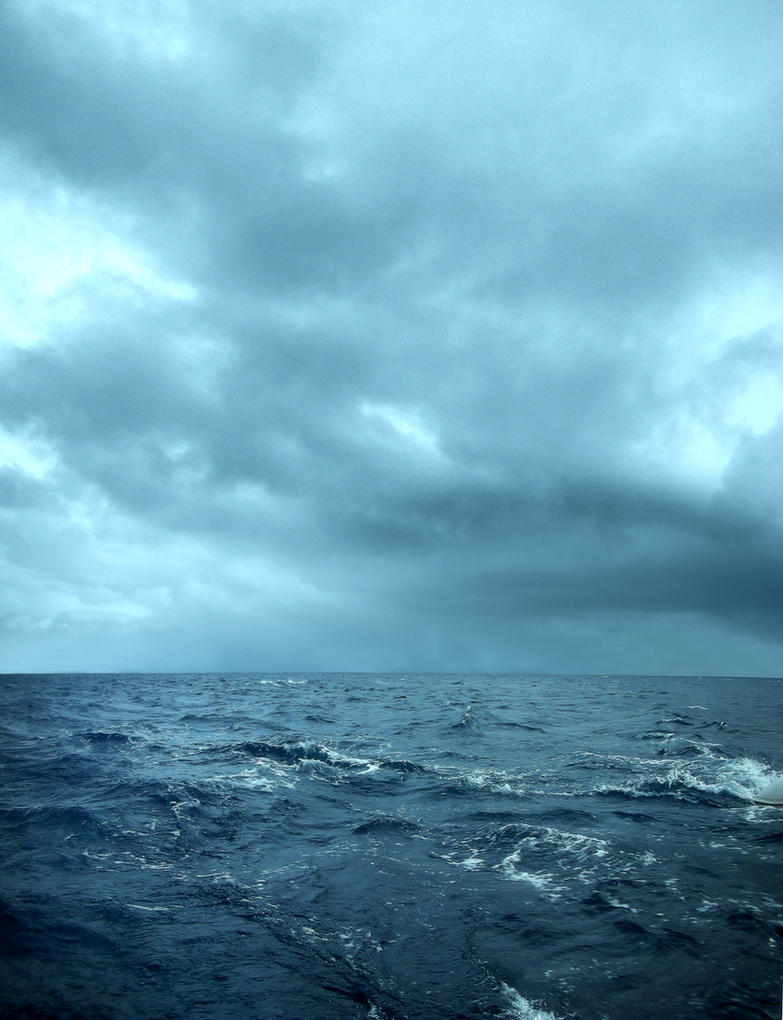 Stormy sea by darkrose42-stock