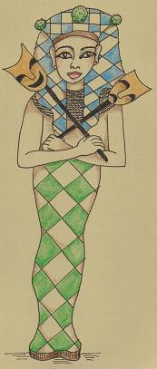 Egyptian Harlequin
