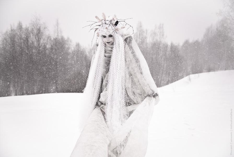 Snow ghost III by vil-painter