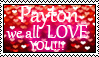 We all love Payton Stamp Commission by xXBlackDementia311Xx