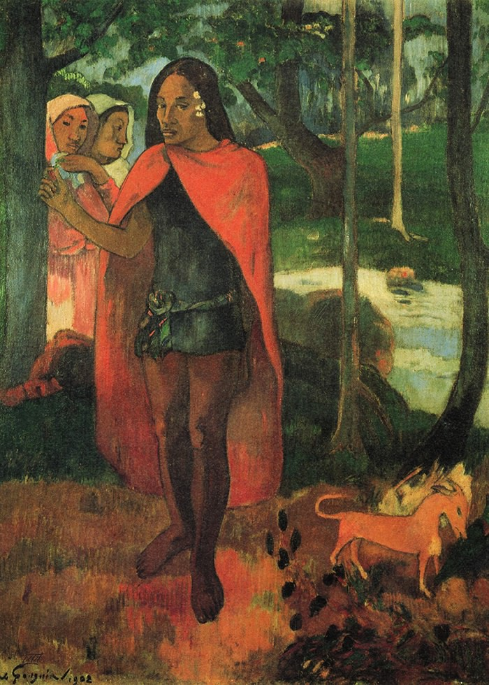 تابلو نقاشی، دختران در جنگل