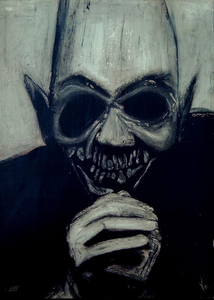 تابلو نقاشی، شیطان نیک نما