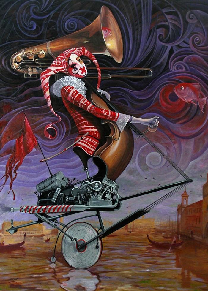 تابلو نقاشی، شیطان ونیزی