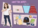 Meet the artist - Conoce al artista