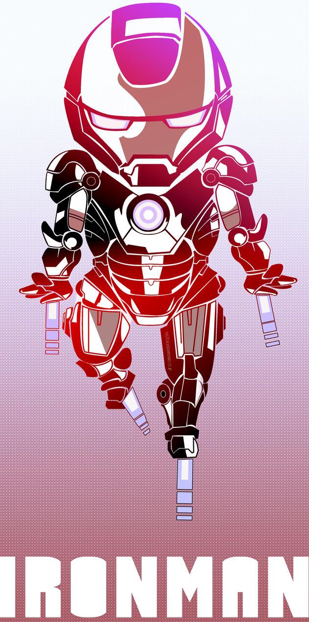 Iron man by 5aXoR