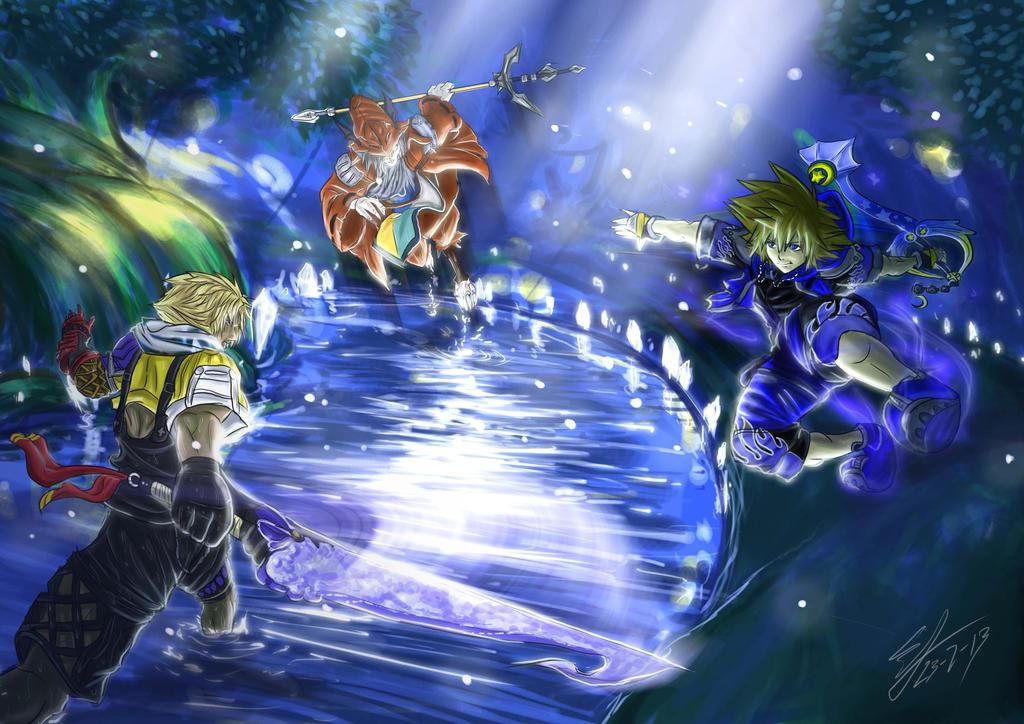 Dissidia Aces Cycle 02 - Round 3  Sora VS Freya by 5aXoR