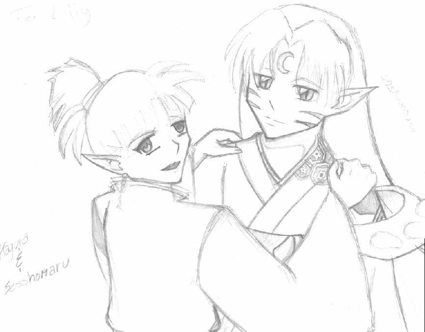 AT-Lily -Sketch- by asanji