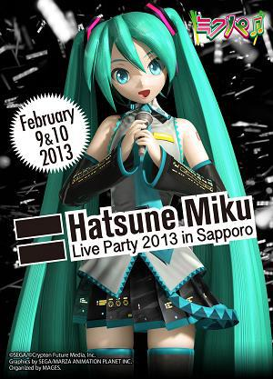 MIKUPA : Hatsune Miku live party 2013 in Sapporo! by Syazwan133