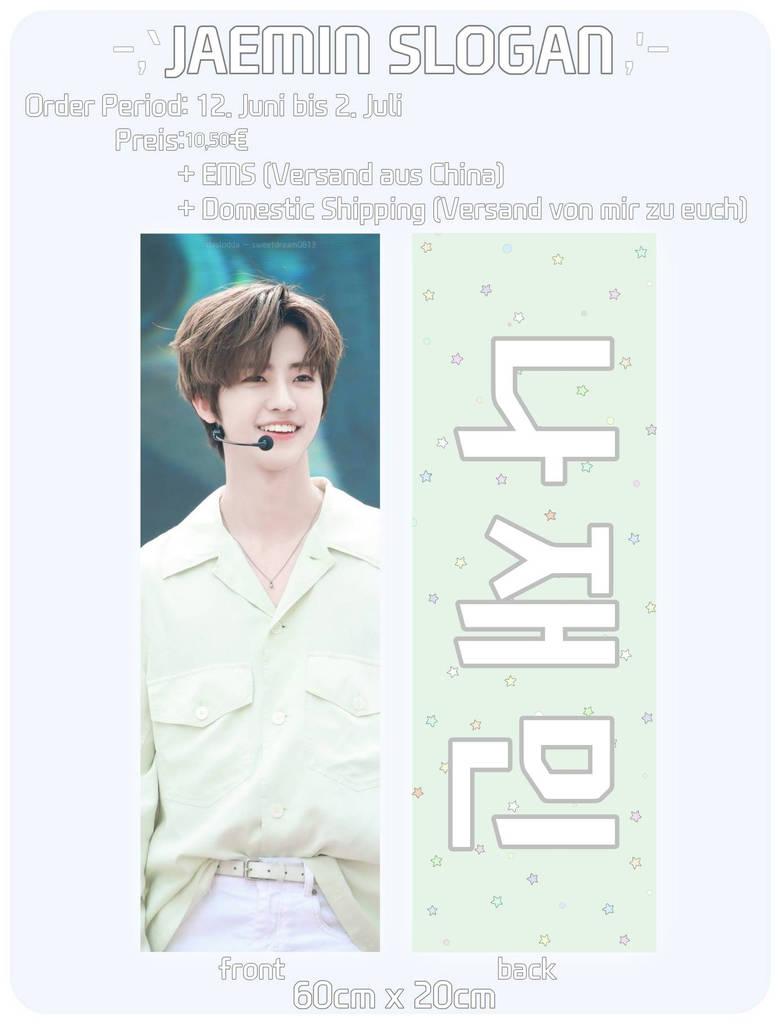 Kpop NCT Jaemin, Haechan Chenle Slogans by daslodda on DeviantArt