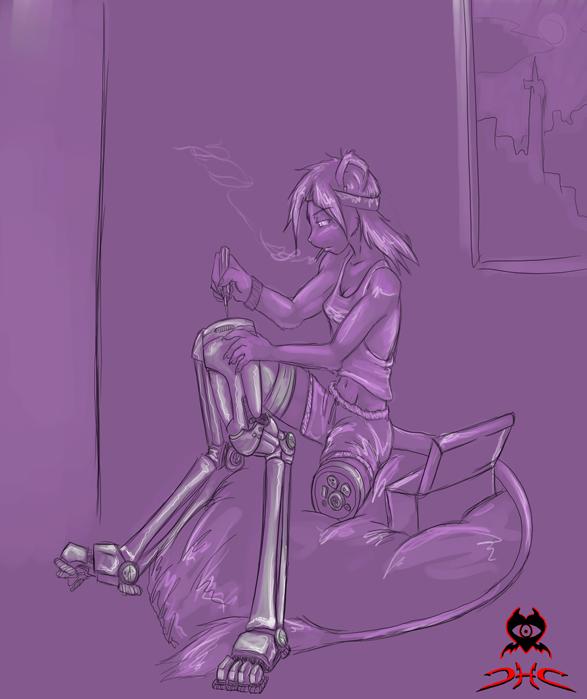 routine maitenence by DarkHeartsClub