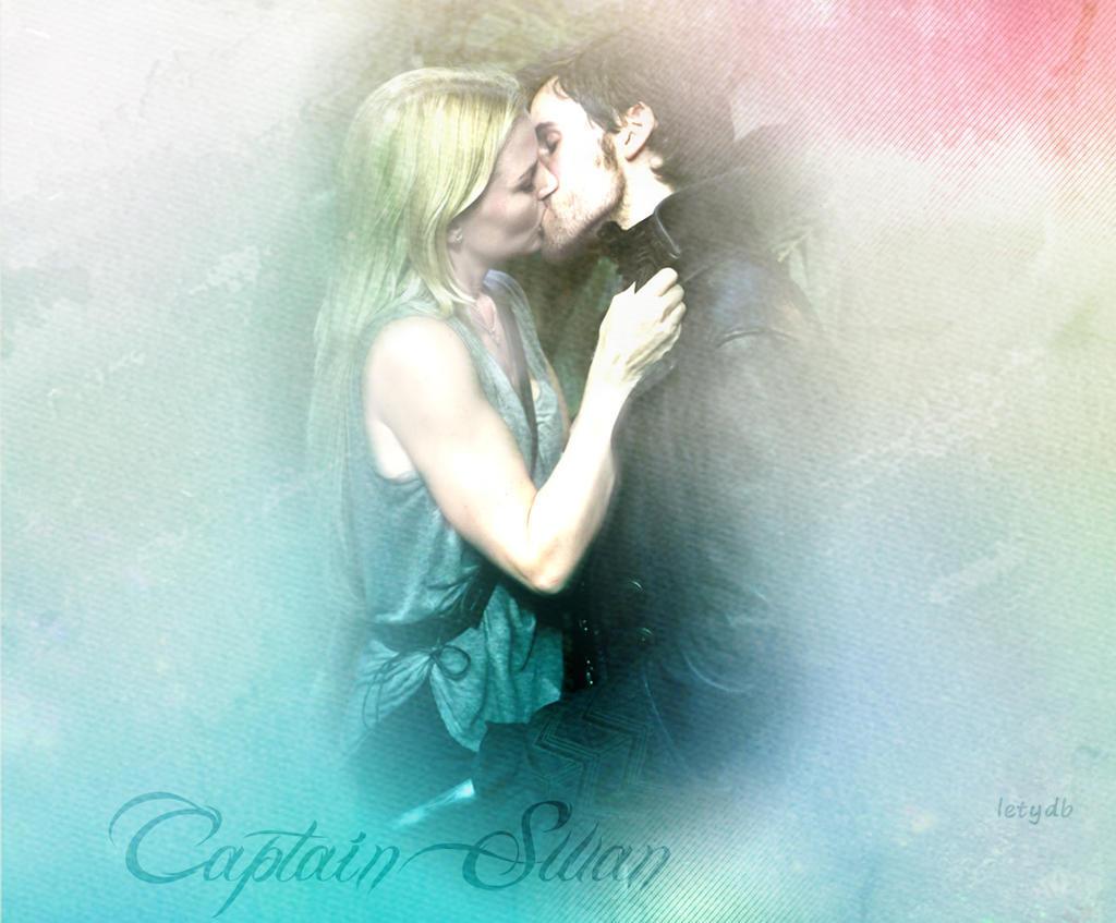 Captain swan kiss fan art