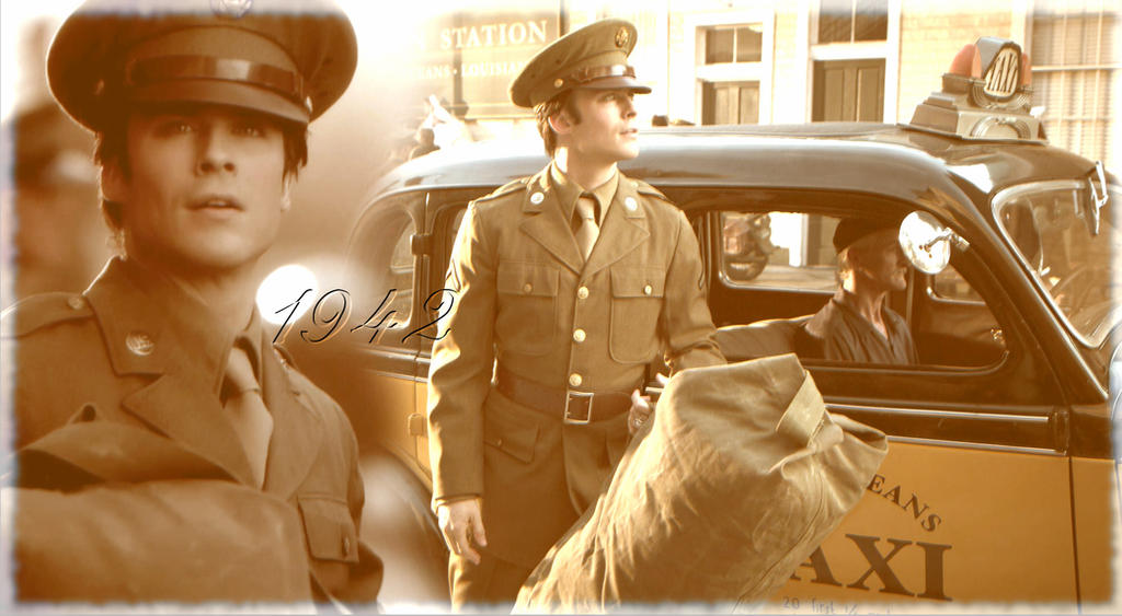 Damon Salvatore 1942