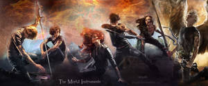 The Mortal Instruments new covers