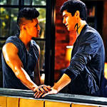 Malec moment from season 2