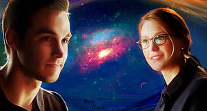 A boy from Daxam and a girl from Krypton