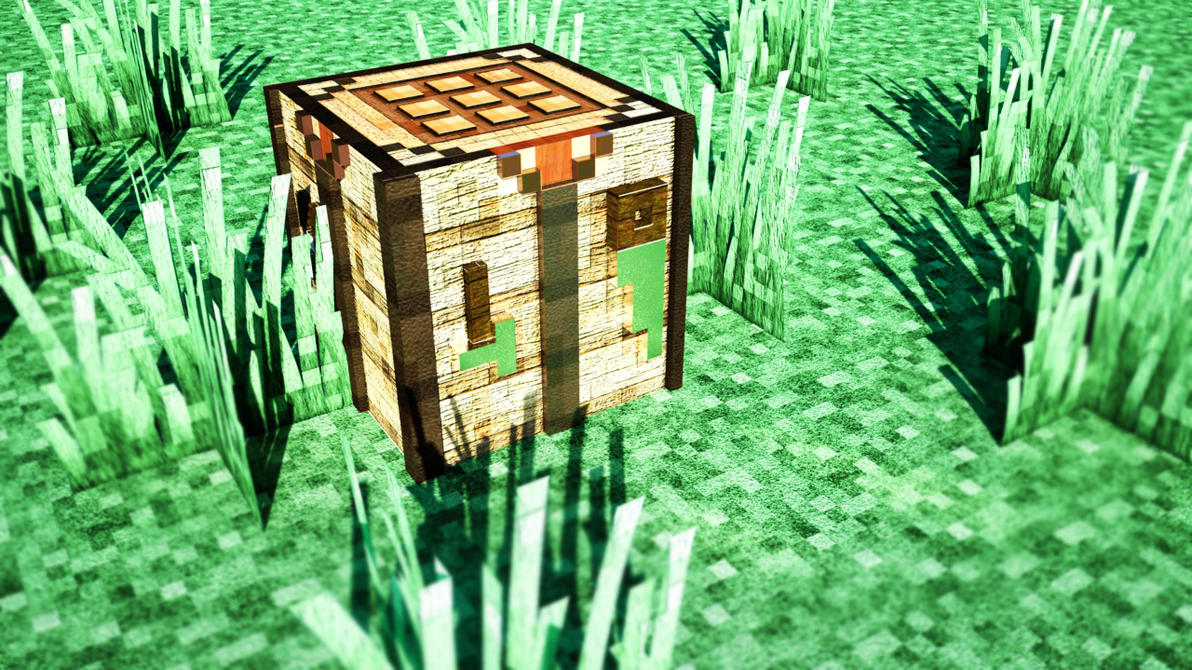 Minecraft Crafting Table Setup