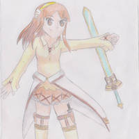 Sword Art Online Character OC by AmiMeito-chan