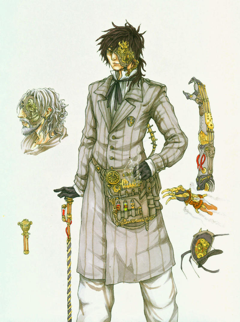 Pictures of Steampunk Character Drawings - #rock-cafe