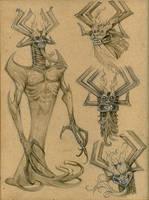 Sketches - Aku by eoghankerrigan