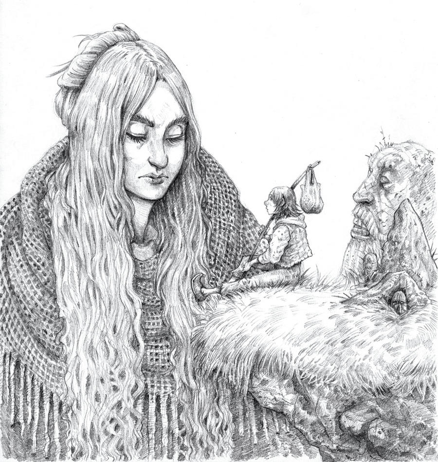 Giant Lady by eoghankerrigan