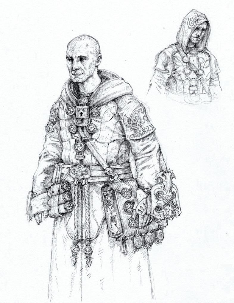 Monk by eoghankerrigan