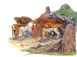 Celtic Sphinxes