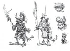On the Shoulders of Heroes- Goblins