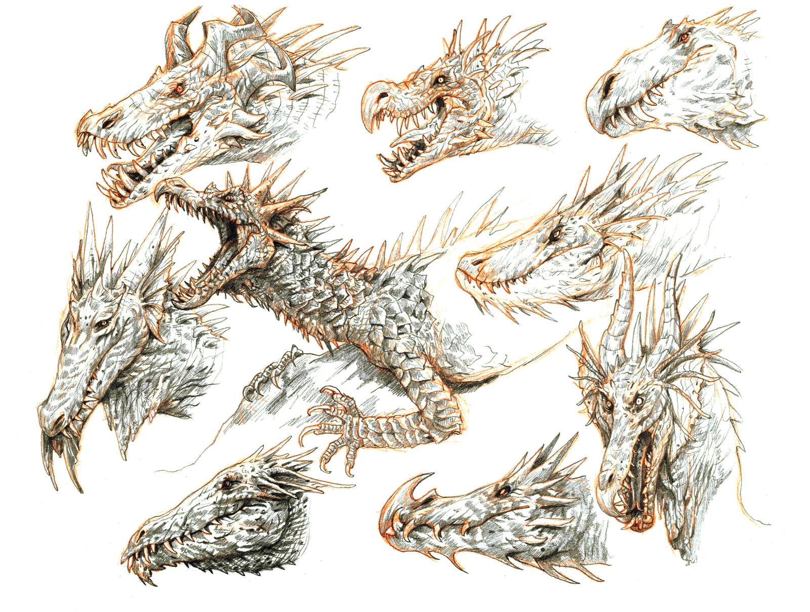 More dragons by eoghankerrigan