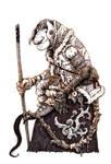 Inktober #17 - Troll watch