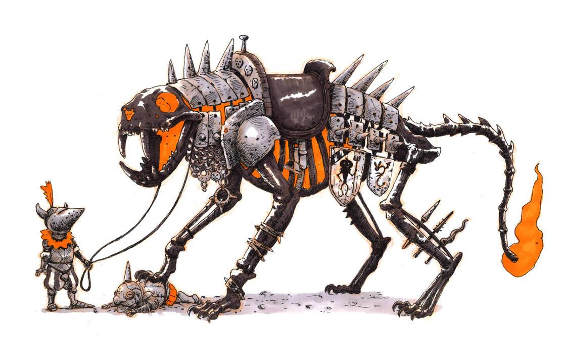 Inktober #24 - Halloween steed by eoghankerrigan
