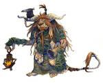 Inktober #26 - Horned troll