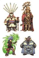 JRPG Characters 7 by eoghankerrigan