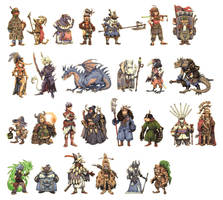 JRPG Characters Part 1