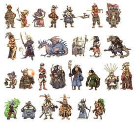 JRPG Characters Part 1