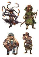 JRPG Characters 9 by eoghankerrigan