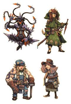 JRPG Characters 9