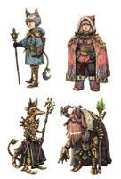JRPG Characters 11 by eoghankerrigan