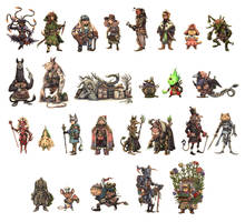 JRPG Characters Part 2 by eoghankerrigan