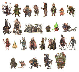 JRPG Characters Part 2