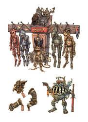 Armoured oddities 2 by eoghankerrigan