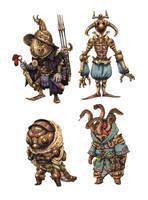 JRPG Characters 14 by eoghankerrigan