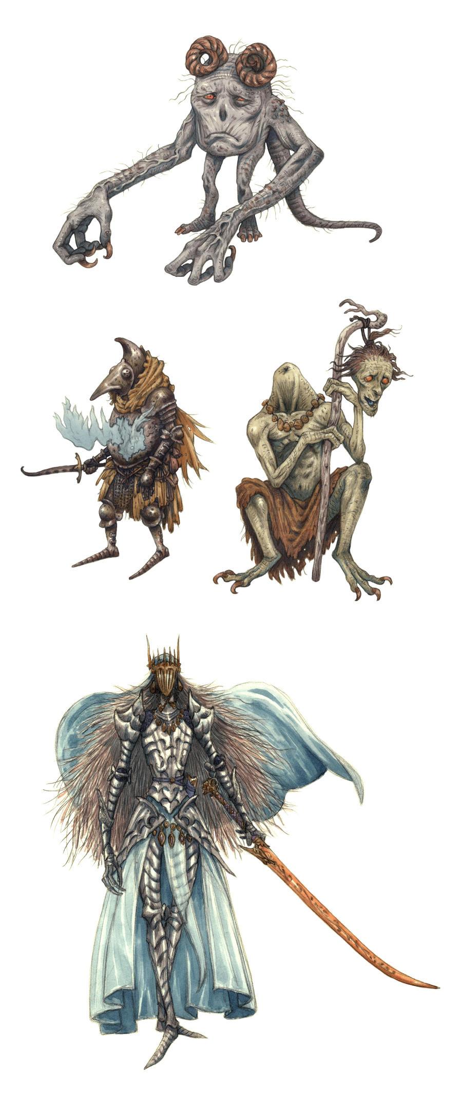 Dark Souls Inspired by eoghankerrigan