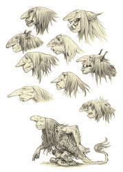 Trolly sketches by eoghankerrigan
