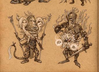 Mushroom wizards 3 by eoghankerrigan