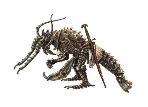 Crayfish knight