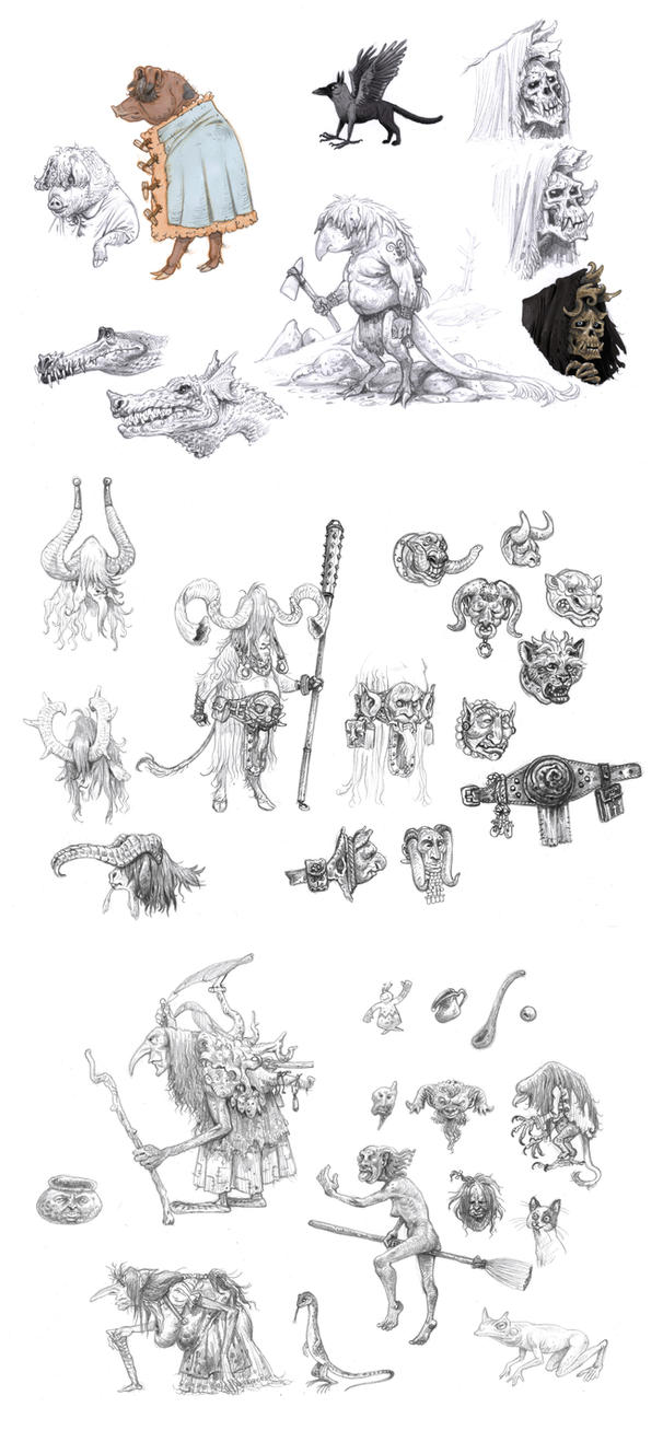 Doodles 2 by eoghankerrigan