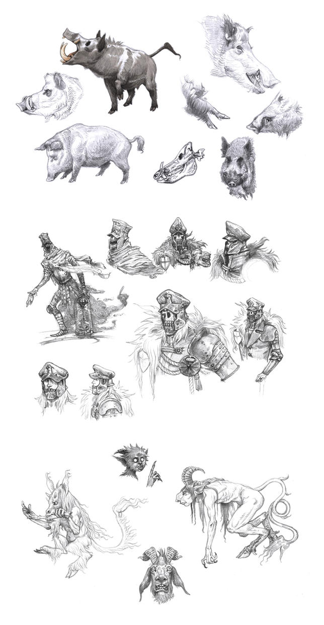 Doodles 4 by eoghankerrigan