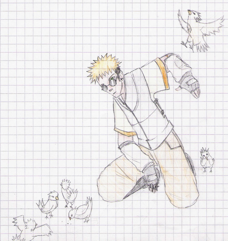how to draw my own naruto character